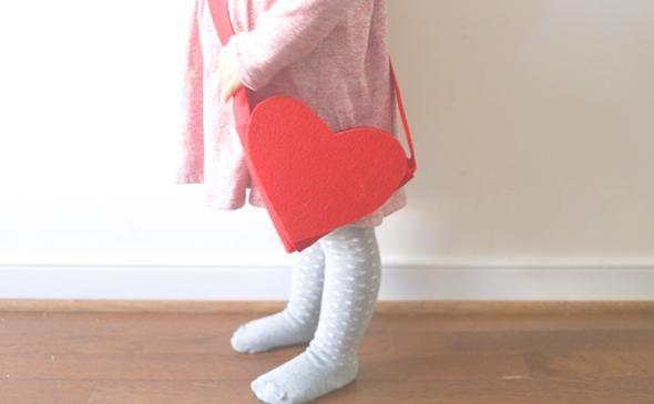 DIY Felt Valentine Treat Bag for Kids