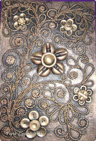 Декор предметов Аппликация из скрученных жгутиков Пейп-арт  продолжение Мини МК по скручиванию жгутов Салфетки фото 5