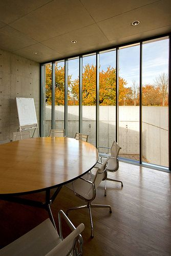 Vitra Conference Pavilion designed by Tadao Ando. Weil am Rhein