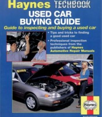 Used Car Buying Guide: Guide To Inspecting And Buying A Used Car PDF
