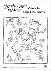 art project giraffes can't dance - Google Search