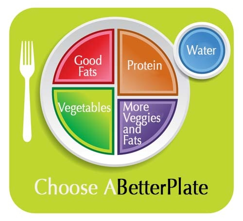 Choose a better plate--great article from WellnessMama.com about the new crazy eating guidelines from the USDA.