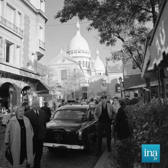 Montmartre en 1962