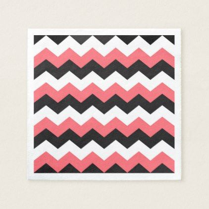 Chevron Paper Napkin - fancy gifts cool gift ideas unique special diy customize