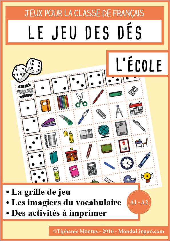 JDD L'école | Mondolinguo - Français