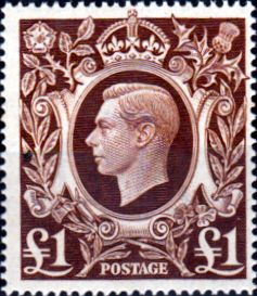 Great Britain 1939 King George VI Fine Mint SG 478b Scott 275 Other British Commonwealth Stamps HERE!