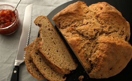 Σπιτικό ψωμί με βρώμηEasy Recipe, Breads Recipe, Irish Breads, Irish Brown, Brown Breads, Bread Recipes, Easy Irish, Favorite Recipe, Sodas Breads