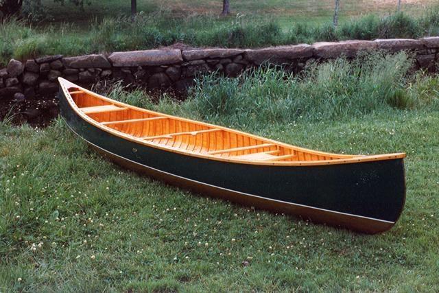 16 Wilderness Guide Island Falls Canoe Bark Canvas