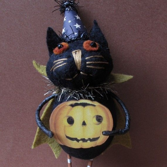 KIT for Hocus Pocus Halloween Kitty by by cheswickcompany on Etsy, $13.95