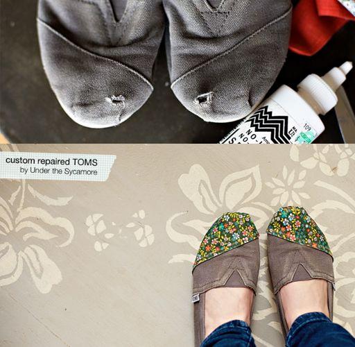 DIY shoe repair toms