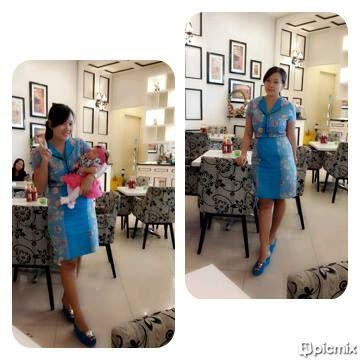 our blue dress courtesy : Nani Winar Firdaus