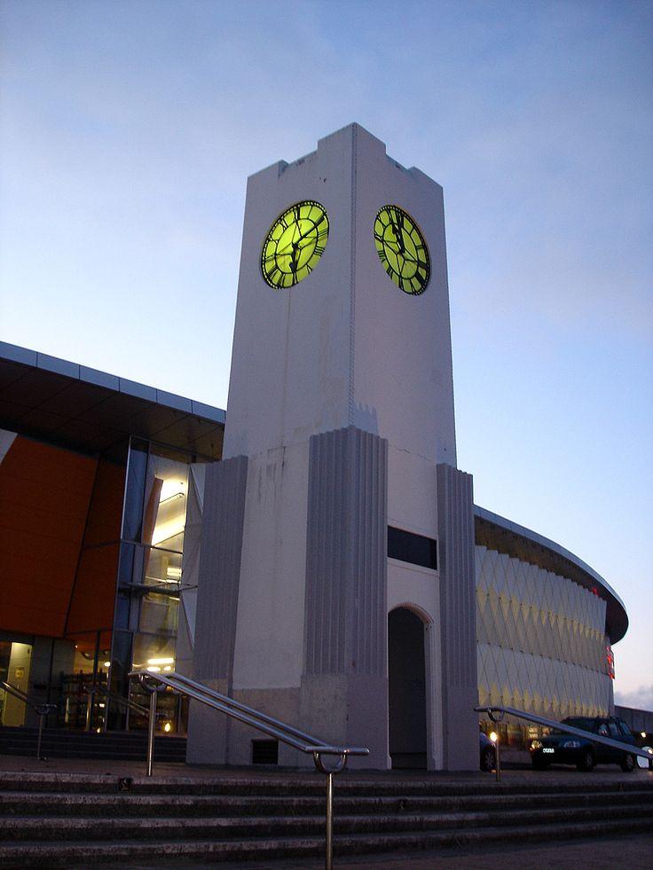 Clocktower at dawn