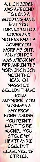 Rod Stewart - Maggie May, Wake UP Maggie