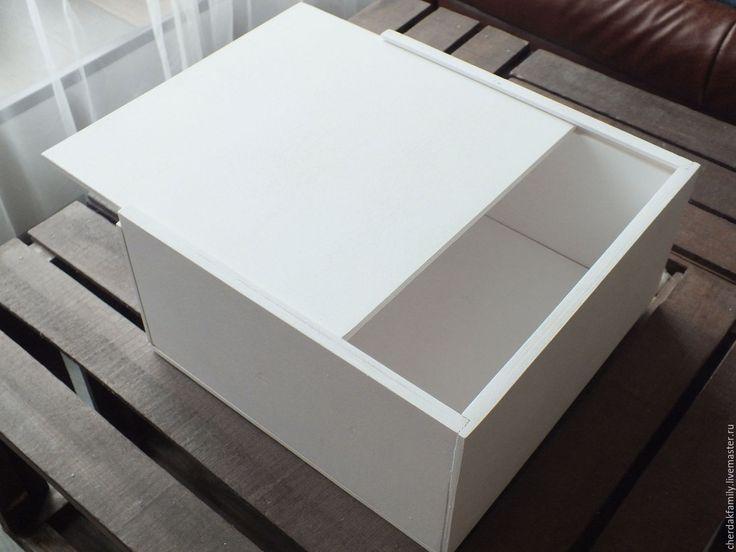 Купить Деревянный ящик фанерный с крышкой - бежевый, ящик, упаковка оптом, ящики оптом, упаковка