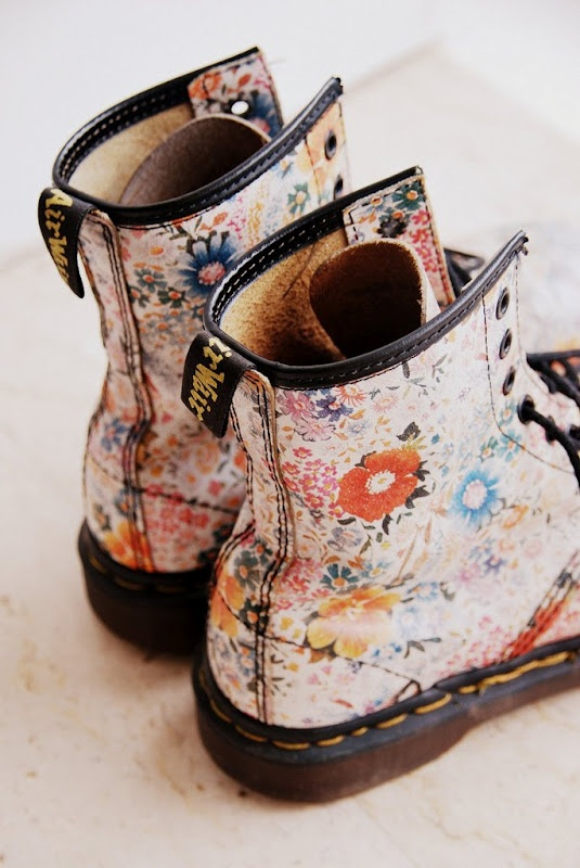 doc martens...I've always wanted a pair but they're so expensive.