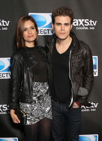 Paul Wesley and Torrey Devitto Photos - DIRECTV Super Saturday Night Featuring Special Guest Justin Timberlake & Co-Hosted By Mark Cuban's AXS TV - Zimbio