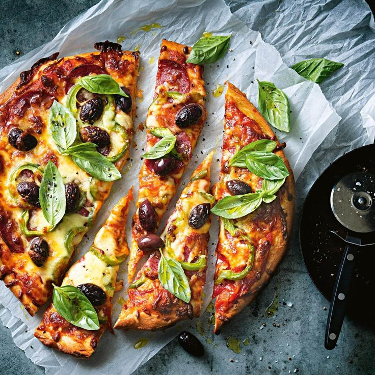 How to make a deliciously cheesy pizza #pizza