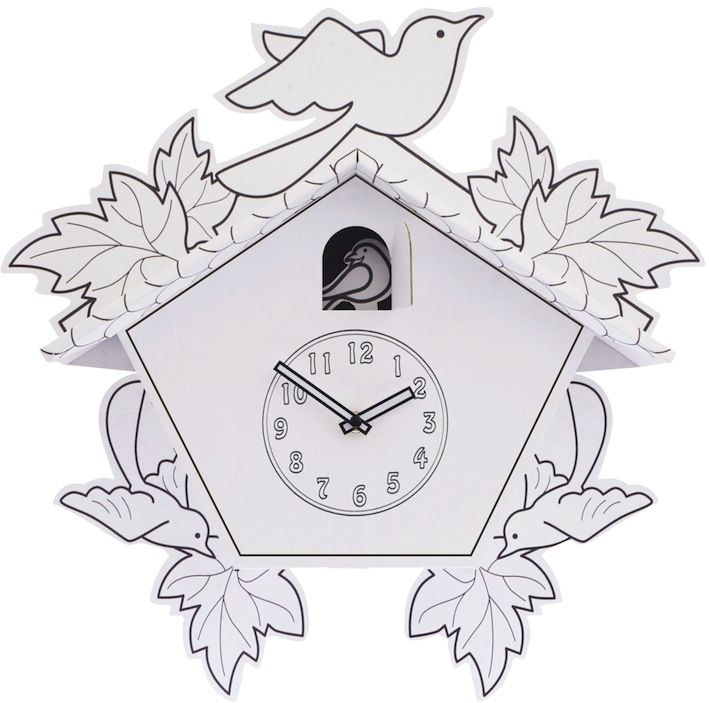 Decorate Your Own Cuckoo Clock Paper Cuckoo Clock