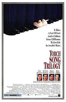 "Harvey Fierstein's ""Torch Song Trilogy."" Way ahead of its time!"