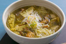 麺好き必食!筍と桜鯛の絶品スープそば