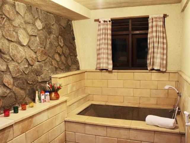 Unique Stone Bathroom