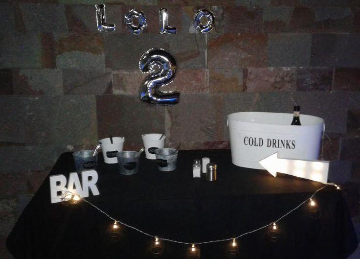 #Bar #drinks #tabble #aderezos #cumpleañosdeLolo