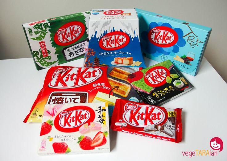 It's a Kit Kat party! - vegeTARAian