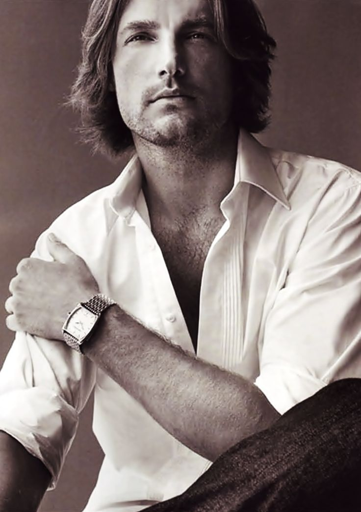 Gabriel Aubry, French-Canadian model, b. 1976
