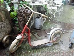 Der gute alter Roller!