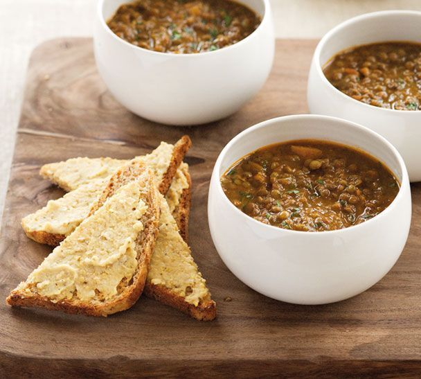 Try our easy and delicious recipe for Moroccan style lentil soup on www.ddgdaily.com