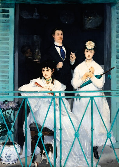Out of the shadows: Manet's Le Balcon (1868-9). Photograph: The Gallery Collection/Corbis