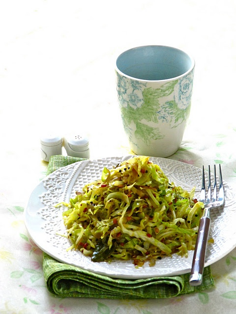 cabbage stir-fry My opinion: As a major noodle lover I am amazed to say this but finely sliced cabbage has become the new noodle. I usually cook my fresh cabbage with a little kikkoman stirfry sauce and it comes out delicious. The cabbage becomes a wonder base for entrees or for a stirfry