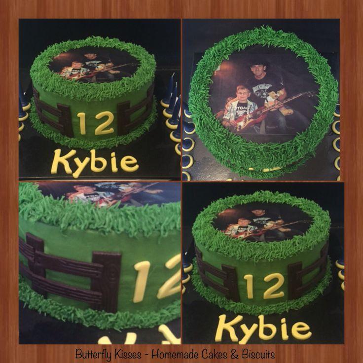 Kybie's 12th birthday cake