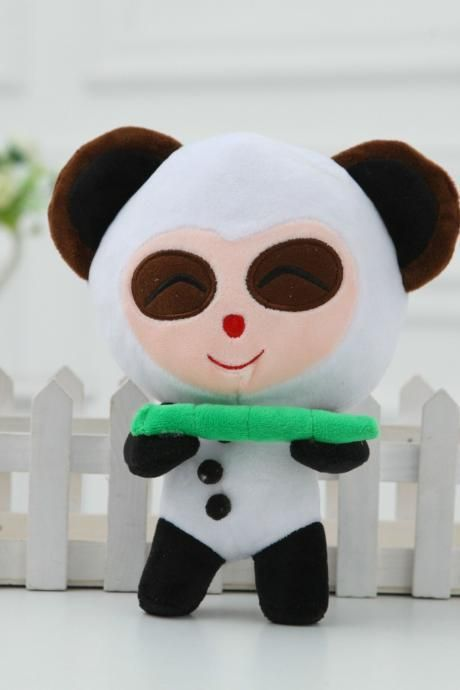 LOL Panda Teemo Doll,Teemo plush toy best gift for guys and children