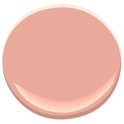ben moore: Georgia Peach, classic color collection, tannish peach