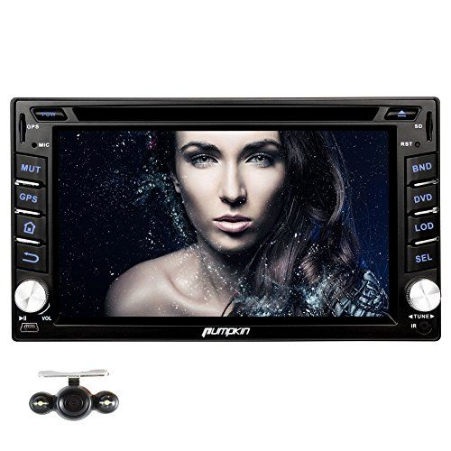 Special Offers - Pumpkin Quad Core 6.2 inch Universal Android 4.4 Double Din Car Stereo Radio DVD Player Muti-touch Screen In Dash GPS Navigation Support 3G/WIFI/Bluetooth/OBD2/DVR/Mirror Link/SWC with Backup Camera - In stock & Free Shipping. You can save more money! Check It (June 21 2016 at 11:34PM)…