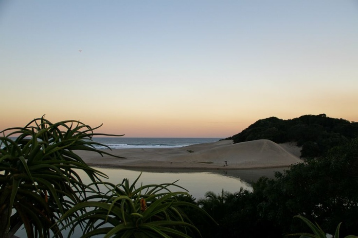 Beautiful travel destination on the Wild Coast of the Eastern Cape in South Africa.