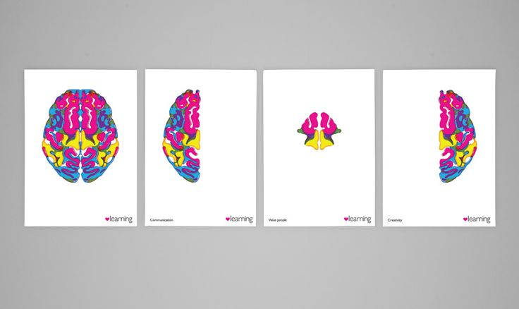 The One Off -  A series of posters for internal communications