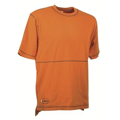 This stylish hybrid cotton and spandex garment is the Cofra Bilbao T-Shirt. It's been designed to provide the wearer with more flexibility and features side splits for additional freedom of movement. The contrast stitching detail around the collar, cuffs, chest, waist and shoulders, gives this shirt a unique and appealing look.