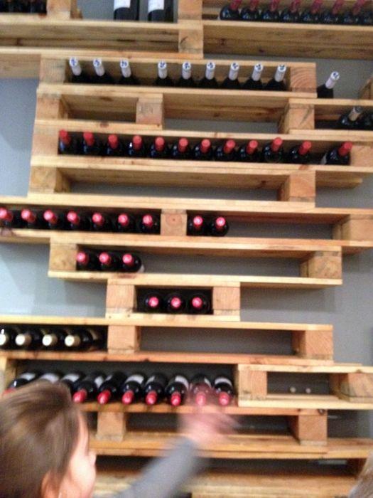 M s de 25 ideas incre bles sobre estantes de vino en - Muebles para poner botellas de vino ...