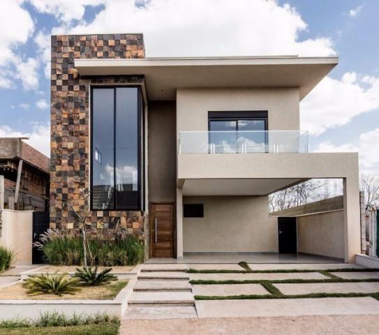 Fachadas de casas modernas de dos pisos decoraci n en - Casas de dos plantas sencillas ...
