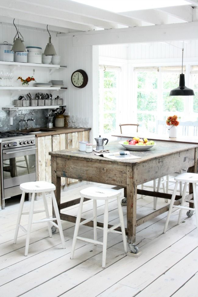 Bright English Farmhouse Kitchen. From Makelight Weekend 13. Country Style  ... Part 36