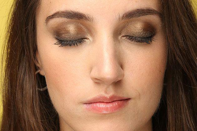 Главный тренд осени: золотые тени для блондинки, брюнетки и рыжей | Журнал Cosmopolitan