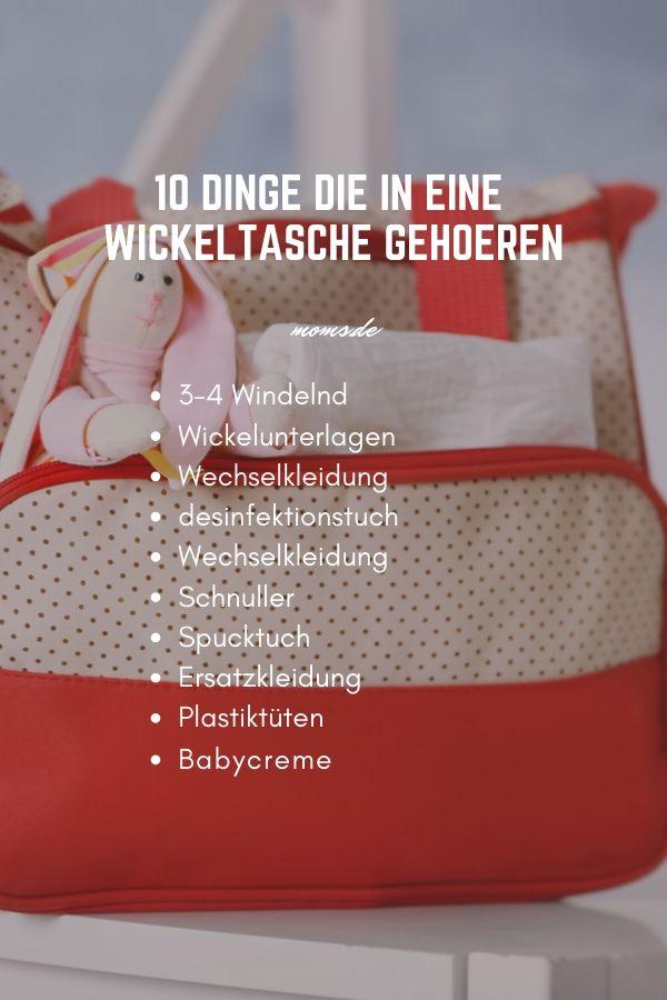 Checkliste Fur Die Wickeltasche Alles Natige Auf Eine Checkliste