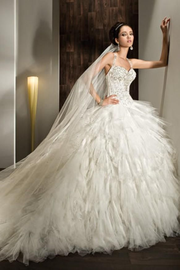 272 best Ball Gown Wedding Dresses images on Pinterest Ball