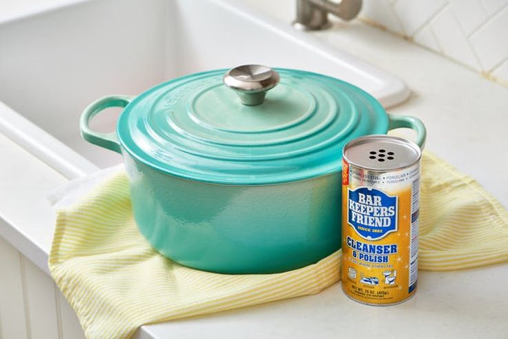 The Best Cleaner for an Enameled Dutch Oven   Kitchn