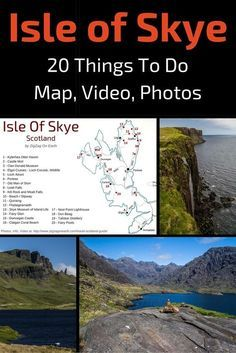 Isle of Skye Scotland - Discover 20 Things to do on Skye island including Fairy fools, Fairy Glen, Storr... Plus a detailed map, info, video, photos - http://www.zigzagonearth.com/things-to-do-in-skye-island-scotland/