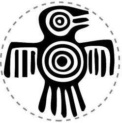 The meaning of this Aztec symbol was power, strength and courage. These attributes were attached to eagles due to their amazing flying skills, large size and strong nature