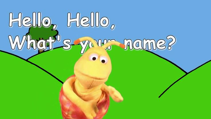 """Hello, Hello, What's Your Name?"" simple little song to introduce kids in a classroom setting"