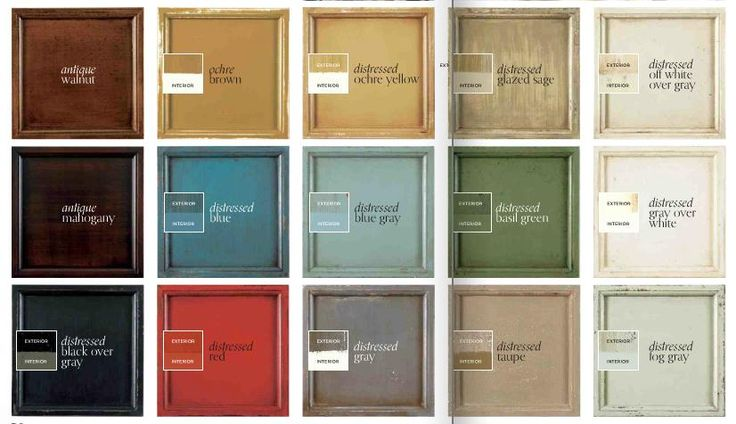 I like the distressed sage and grey for warmer richer for Craft room paint colors